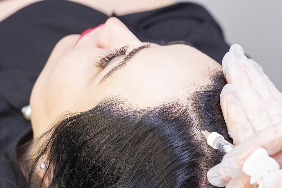 Bepanthen Spritze gegen Haarausfall