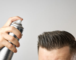 Haarausfall durch Haarspray