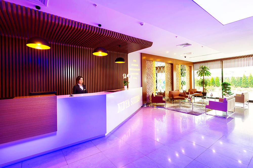 Nidya Hotel Empfang