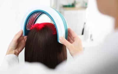 Softlaser Therapie gegen Haarausfall
